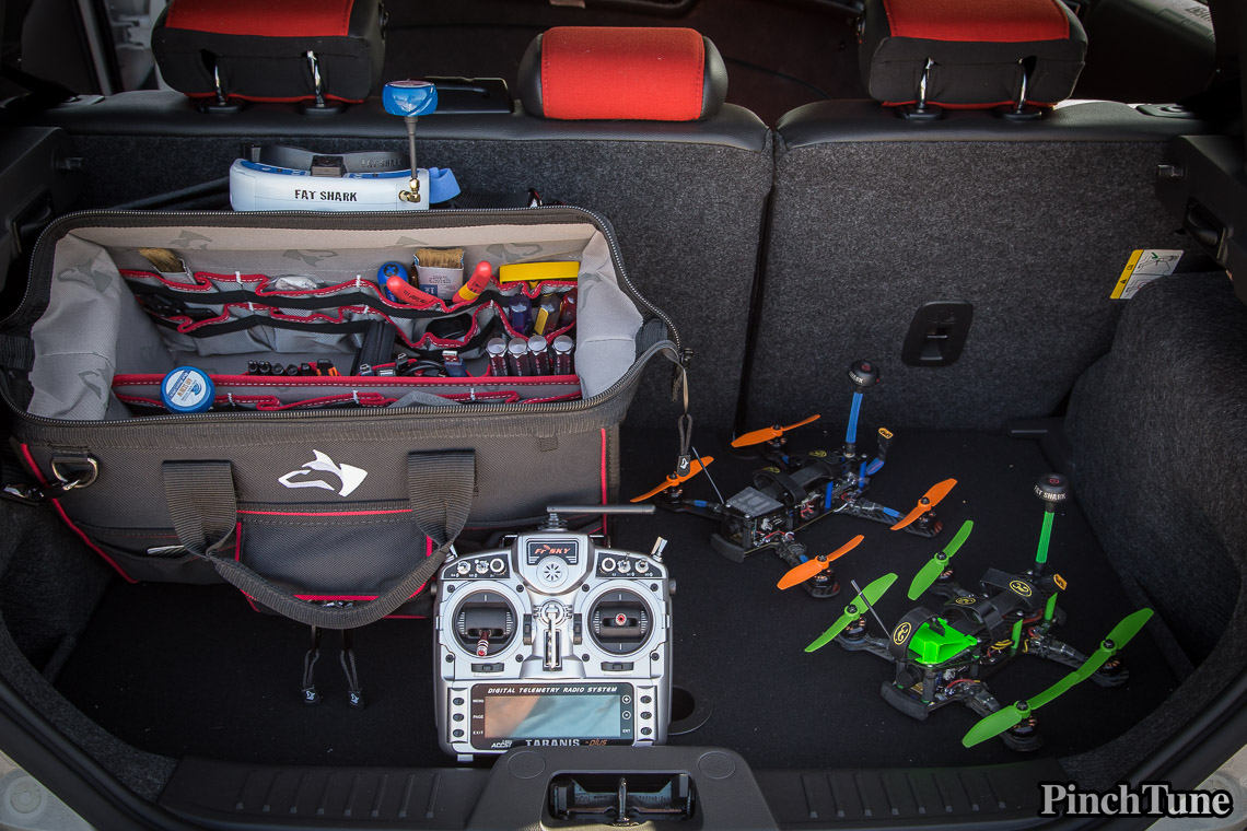 The Perfect Mini Quadcopter Case is a Bag