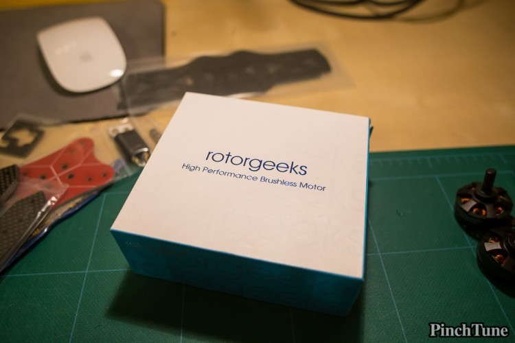 Rotorgeeks Mini Quad Motor Box