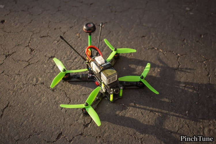 Lumenier QAV210 Charpu Mini Quad Build 1