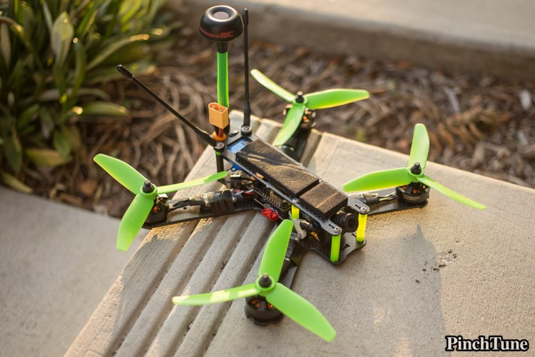 Lumenier QAV210 Charpu Mini Quad Build 22
