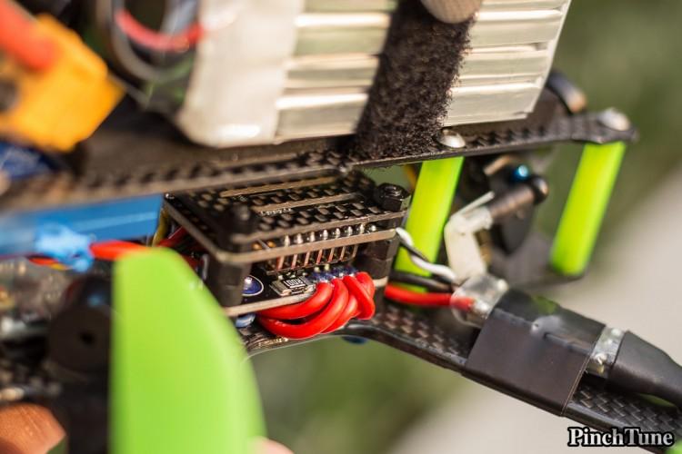 Lumenier QAV210 Charpu Mini Quad Build 24