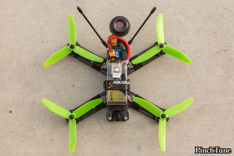 Lumenier QAV210 Charpu Mini Quad Build 28