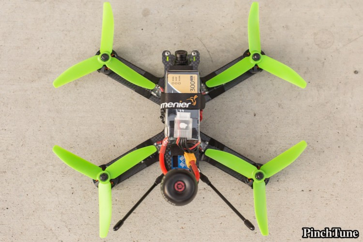 Lumenier QAV210 Charpu Mini Quad Build 29