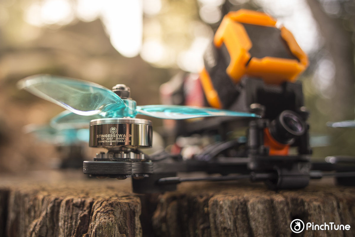 Hyperlow RS+ with Rotor Riot Hypetrain Stingerswarm 2207 Motors